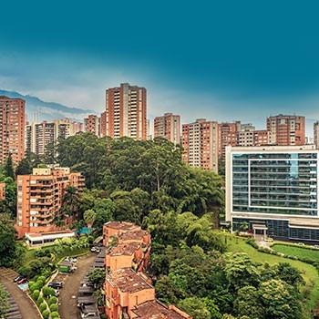 Buildings in Medellin, Colombia