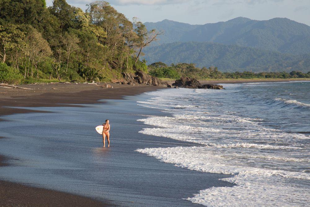 Beach at Los Islotes, Azuero Peninsula, Panama