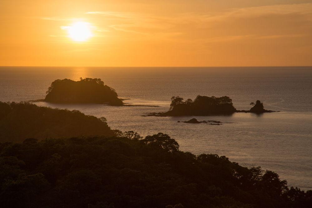 Sunset at Los Islotes, Azuero Peninsula, Panama