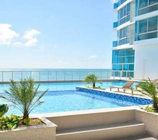 Pool in Gorgona building, Panama