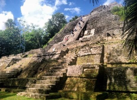 Mayan ruin in Belize