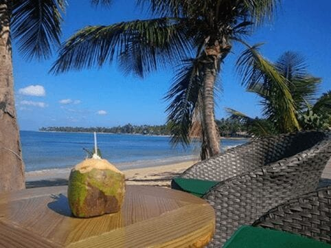 Lazy Dog restaurant in the Dominican Republic