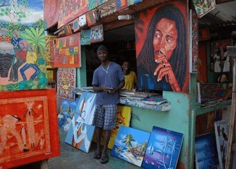 Beautiful local art in the Dominican Republic